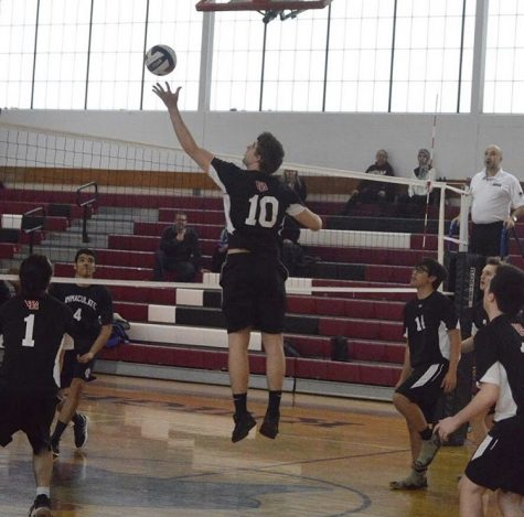 Boys volleyball brings home title