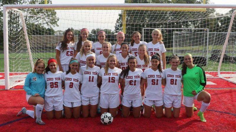 Girls soccer credits success to team chemistry