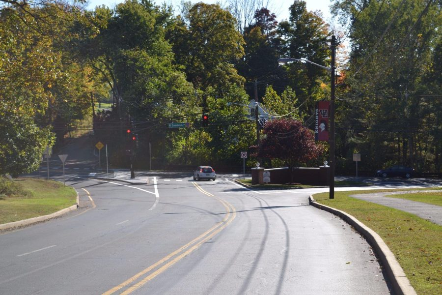 Traffic at entrance increases as school implements new policies