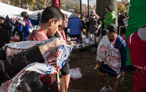 Junior completes Philadelphia marathon
