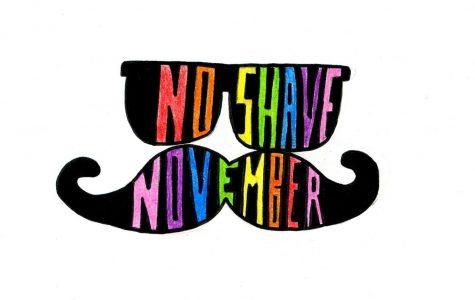 November calls for holding off the razor for men's health