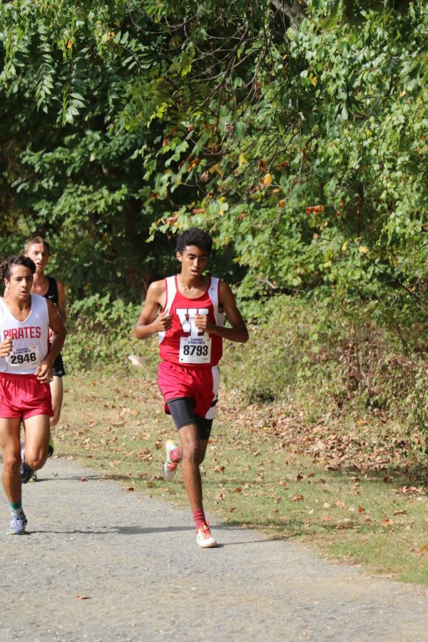 Photo courtesy of  Anthony Emering Ryder Morello running for the gold.