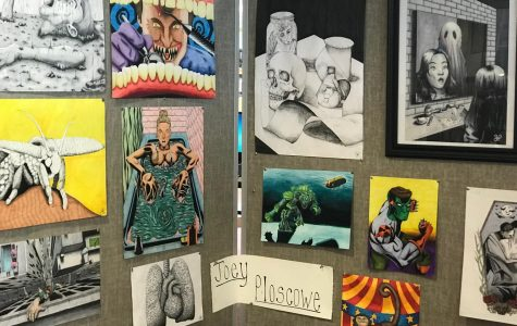 Artists prepare for the 2018 Art show