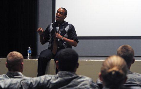 Guest speaker shares struggle with mental health