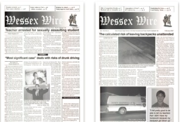 Dive into the archives of The Wessex Wire