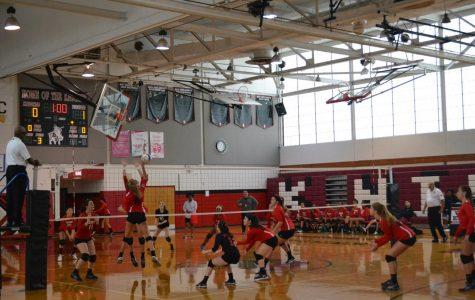 Girls volleyball team makes a big comeback this season