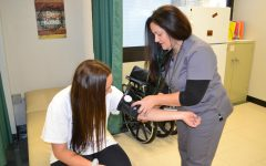 New nurse brings motherly skills to school