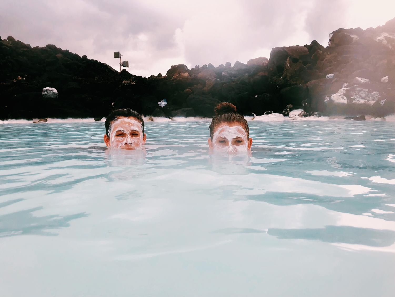 Senior+Ellie+Decker+and+West+Essex+alum+Carly+Decker+in+Blue+Lagoon%2C+Iceland