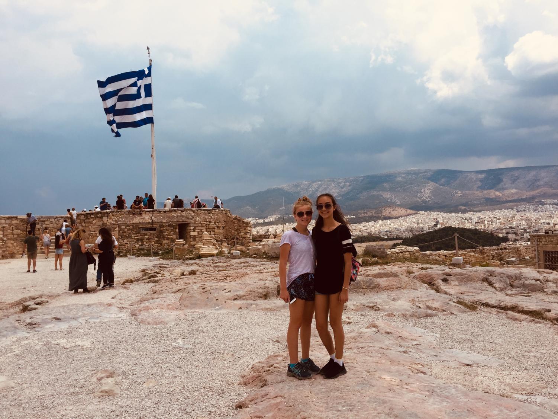 Sophomore+Abby+Keller+in+Greece