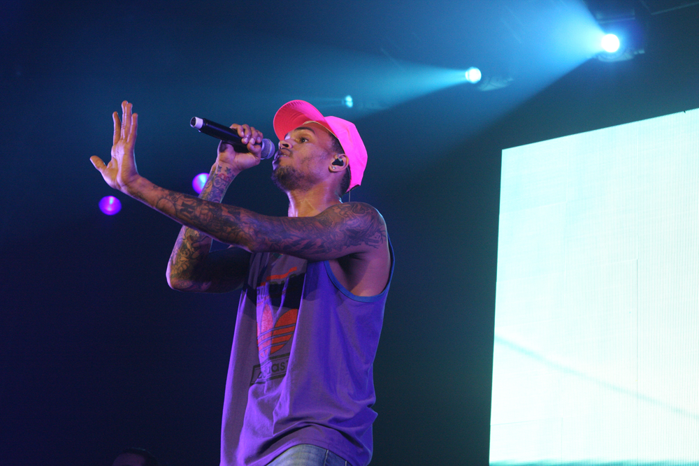 (Photo by Eva Rinaldi [CC-BY-SA 2.0]) Chris Brown's reputation as an R&B singer has been clouded by a pattern of cases of domestic violence. Fans struggle to reconcile their feelings toward his music and Brown as a person.