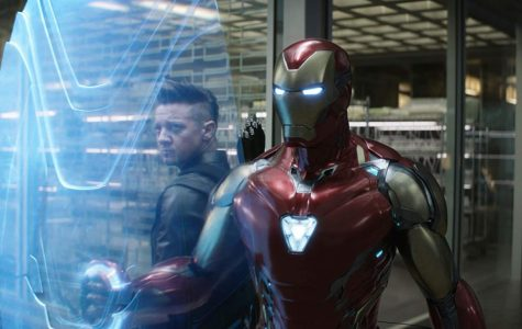 (Photo obtained from IMDB.com) Iron Man and Hawkeye are only two of the dozens of superheroes getting screen time in the excellent