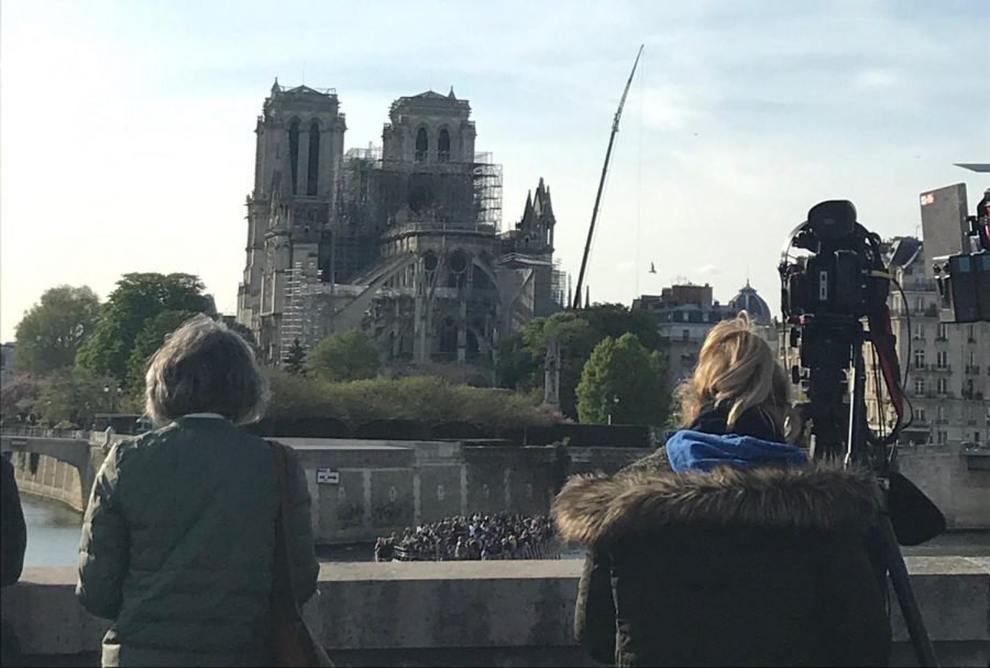 Students upset by loss from Notre Dame fire