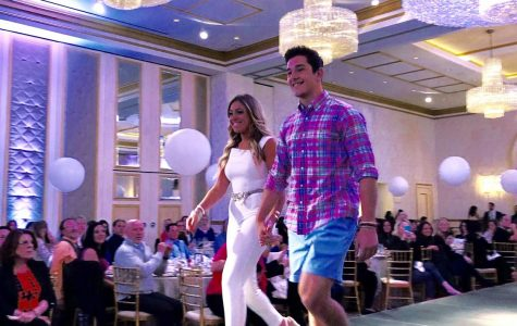 Seniors strut down runway at fashion show