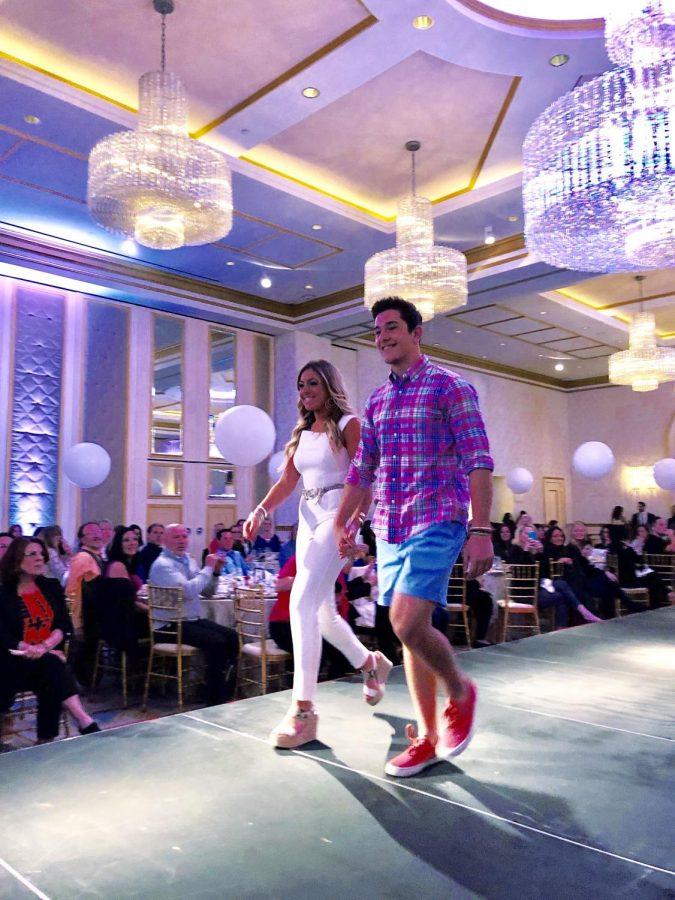 Seniors strut down runway at fashion show