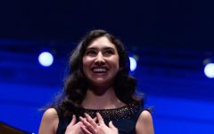 Graduating senior wows audiences with angelic voice