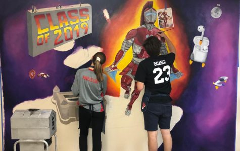2019 mural reflects teenage trends and student body
