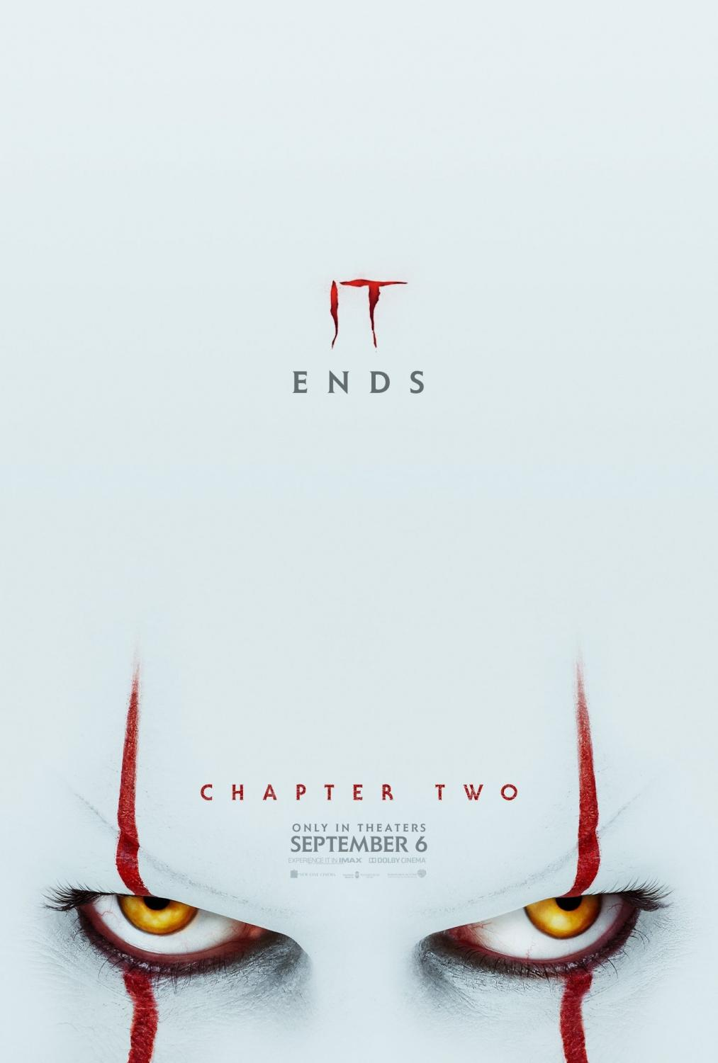 (Picture retrieved from IMDb.com) It Chapter 2 is much scarier than the first one but with the help of the great character development, it ends up being a really great horror movie.