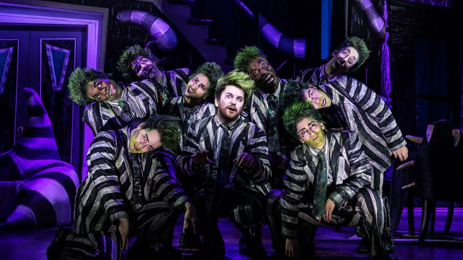 Review Beetlejuice The Musical Will Be The Fright Of Your Life The Wessex Wire