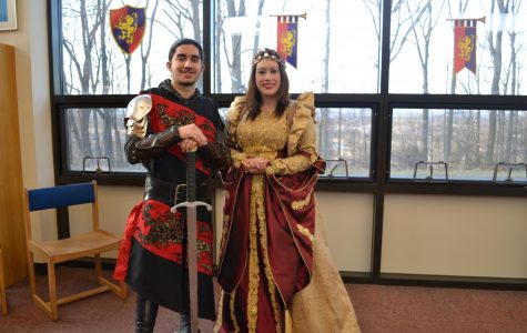 Knights meet knights at library's Medieval Fair