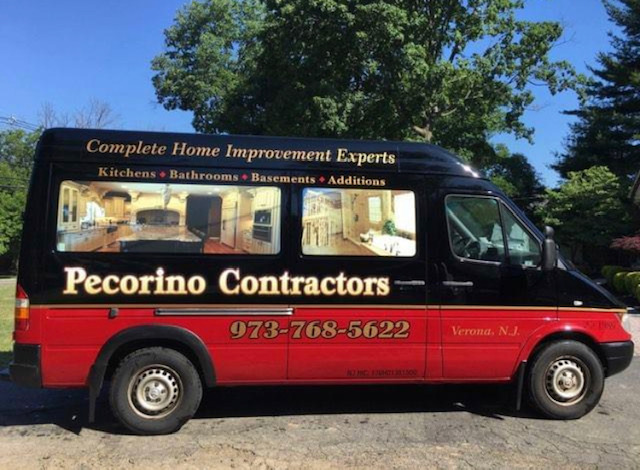 Pecorino Contractors Work Van (Photo Courtesy of Pecorino Contractors)