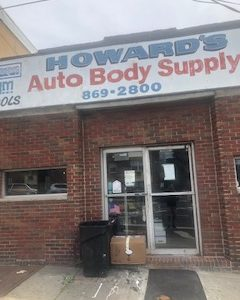 Howard's Auto Body Supplies