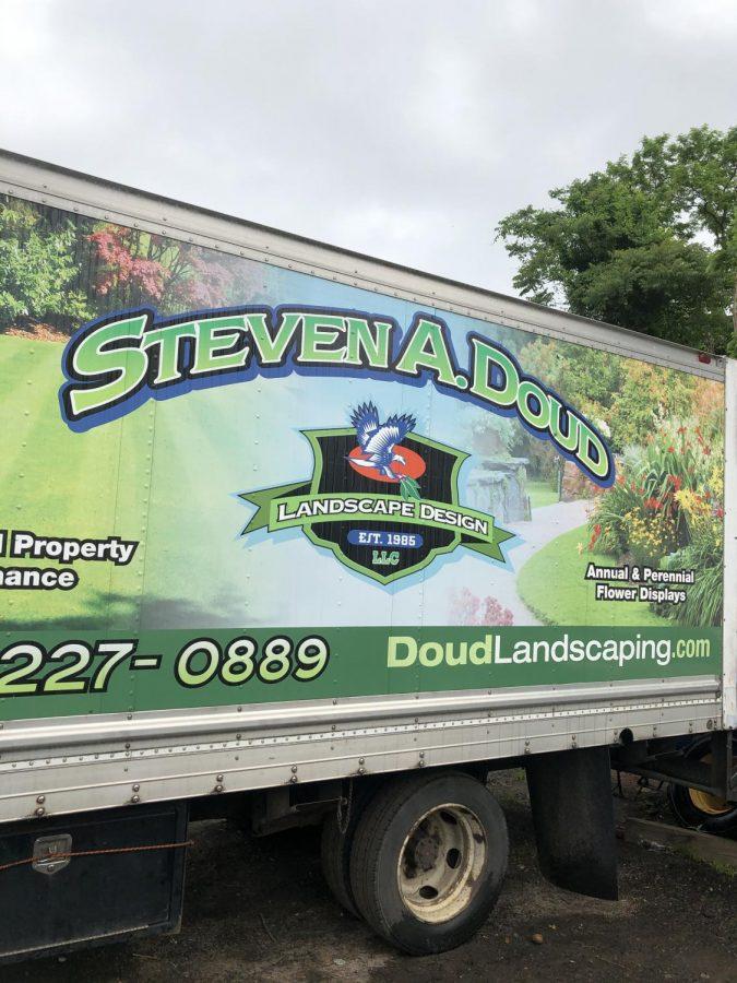 Logo of Steven A Doud Landscaping (Photo courtesy of Steven Doud)