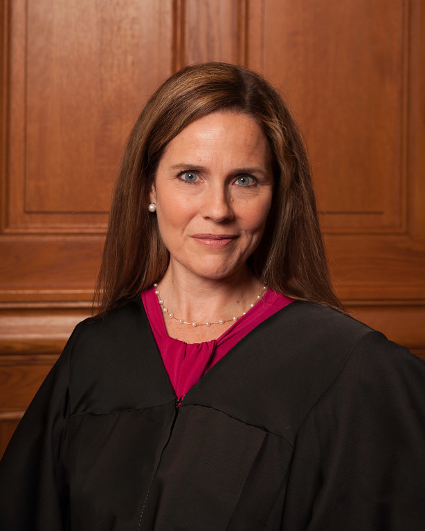 Amy Coney Barrett is President Trump's nomination for Supreme Court Justice.