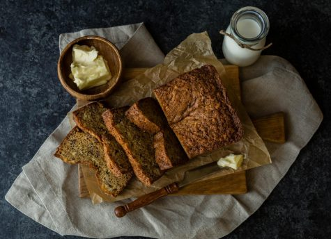 Nothing feels more comforting on a cold winter morning than warm banana bread.