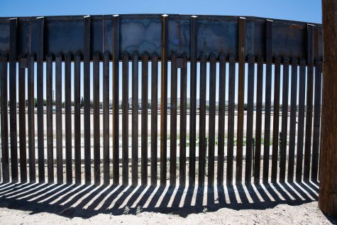 The border wall that was constructed under the Trump administration, has since been halted with President Biden taking office. Courtesy of the Chairman of the Joint Chiefs of Staff (CC BY 2.0)