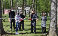 The West Essex STEM Club opened West Essexs first outdoor classroom on April 30, 2021! Spearheaded by senior Abby Boggier, the outdoor classroom will serve as a space for students to take a mask break and appreciate the fresh air while still learning. An additional thank you to Ms. Berthelot, Mr. Diliberto and the members of the STEM club for their immense help!