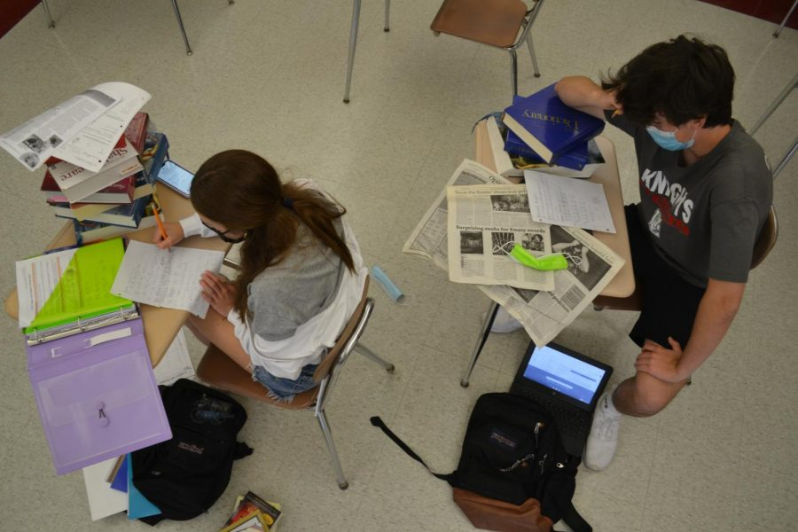As the year comes to an end, students are feeling more and more overwhelmed with schoolwork.