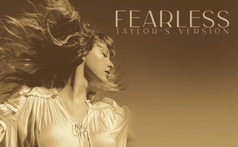 Taylor Swifts album cover for Fearless (Taylors Version) is an updated version of her 2008 cover.