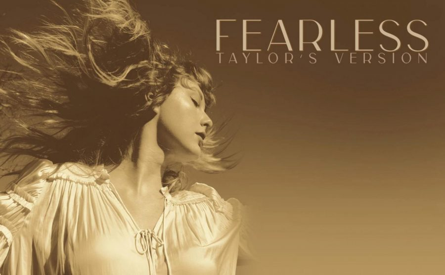 Taylor Swift's album cover for